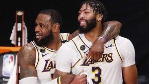 LeBron-Davis, una pareja ganadora en los Lakers