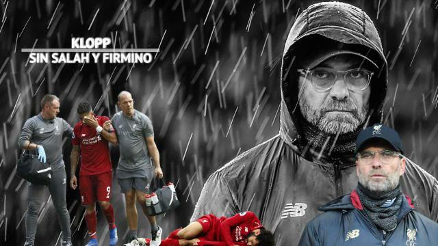 El Liverpool ante el precipicio. Salah KO