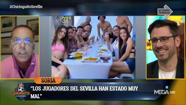 Los 4 futbolistas del Sevilla deben ser castigados y sancionados
