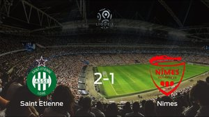 Los tres puntos se quedan en casa: AS Saint Etienne 2-1 Olimpique de Nimes