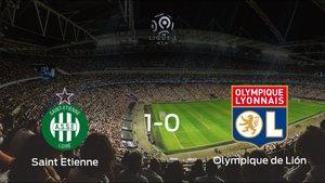 Los tres puntos se quedan en casa tras el triunfo del AS Saint Etienne frente al Olympique Lyon (1-0)