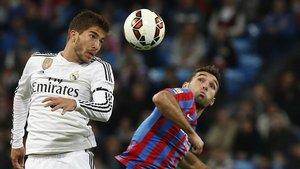 Lucas Silva, durante su etapa en el Real Madrid