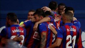 Luego de dos victorias y dos empates, el Eibar se ha alejado parcialmente del descenso