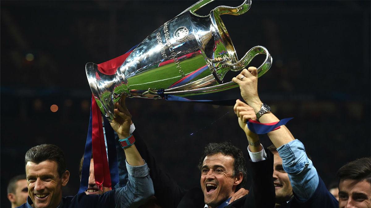 Luis Enrique analiza la Champions que ganó con el Barça en 2015 en Berlín