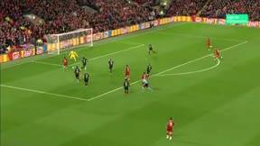 Mané anotó el primer gol del Liverpool ante el Salzburgo