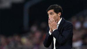 Marcelino ya no se sentará en el Camp Nou