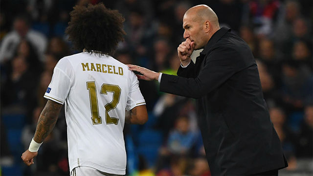Marcelo se marchó tocado del Bernabéu