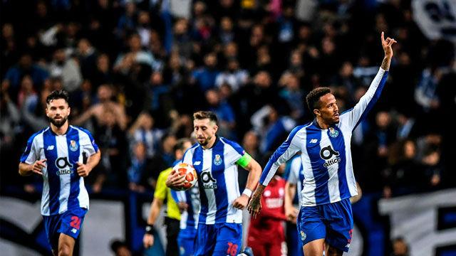 Militao marcó el gol de honor para el Porto