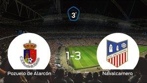 El Navalcarnero se lleva los tres puntos ante el Pozuelo de Alarcón (1-3)
