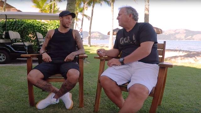 Neymar habló sobre los progresos en su recuperación