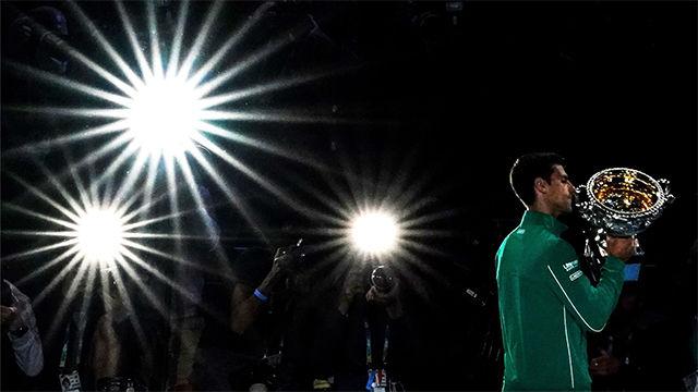 Novak Djokovic, campeón