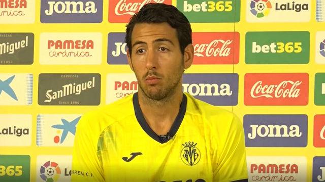Parejo: Estoy orgulloso del pasado, pero pienso en el Villarreal