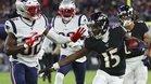 Patriots y Ravens son líderes de sus respectivas divisiones
