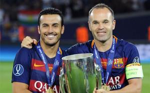Pedro fue el protagonista de la Supercopa de Europa