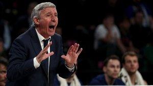 Pesic estaba contento de la reacción de sus jugadores