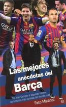 Portada del libro Las mejores anécotas del Barça