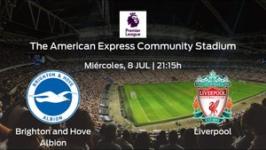 Previa del partido: el Liverpool defiende su liderato ante el Brighton and Hove Albion