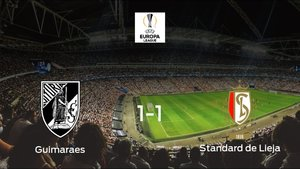 Un punto para cada uno en el Vitoria Guimaraes-Standard de Lieja (1-1)