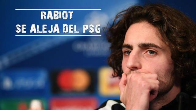 Rabiot se aleja del PSG