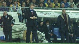 Radomir Antic vivió todos los clásicos en el Bernabéu