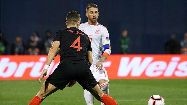 Ramos regresa a Madrid