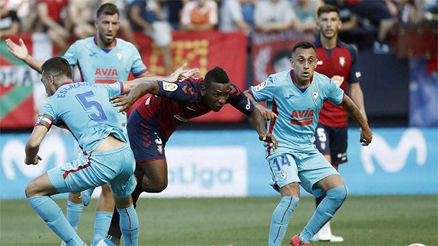 Reparto de puntos entre Osasuna y Eibar