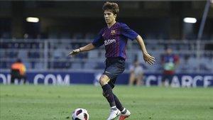 Riqui Puig será uno de los hombres claves en el partido del mini ante el Lleida