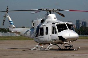 Roban un helicóptero Bell 412 en Cuenca, y aparece oculto en Córdoba