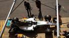 Rosberg marcó el mejor tiempo en la clasificación