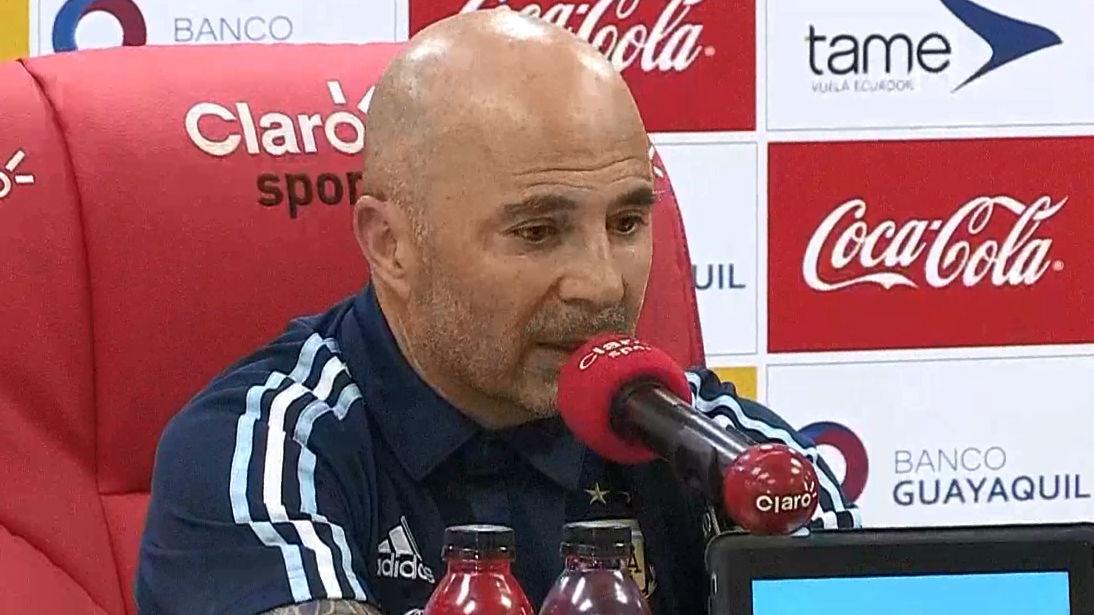 Sampaoli: El fútbol le debe un Mundial a Messi
