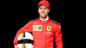 Sebastian Vettel, piloto de la escudería Ferrari