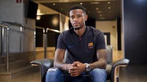 Semedo quiere terminar su carrera en el Barça