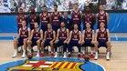 Séraphin posó con el resto del equipo en el Media Day de la Euroliga