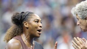 Serena levantó la polémica tras la final
