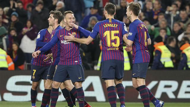 Sergi Roberto, Arthur y Coutinho, titulares para pasar a a semifinales