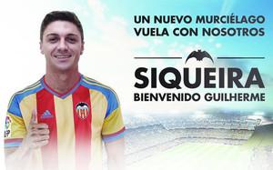 Siqueira, nuevo jugador del Valencia