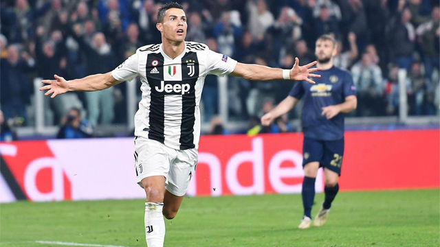 No sirvió de nada, pero Cristiano se lució en Turín con un golazo imparable sin dejar caer la pelota