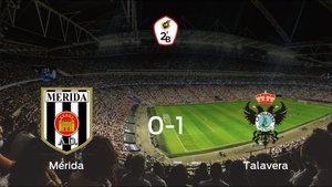 El Talavera de la Reina gana 0-1 al Mérida AD y se lleva los tres puntos