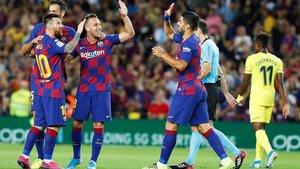 La temporada pasada, el Barça venció por 2-1 al Villarreal; el segundo gol fue del ahora juventino Arthur Melo