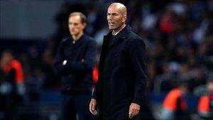 Tuchel le dio todo un repaso a Zidane