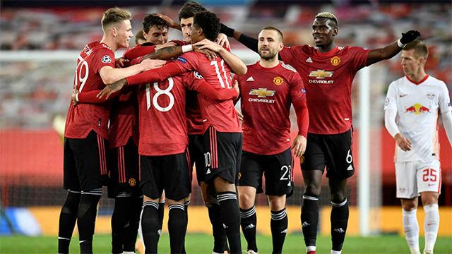 Un United colosal aplasta al Leipzig en Old Trafford