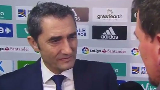 Valverde no quiere especular en LaLiga