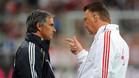 Van Gaal, en una imagen de archivo con Mourinho
