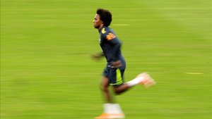 Willian elogió a Messi