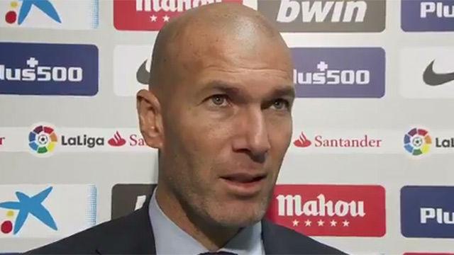 Zidane: Los diez puntos son remontables