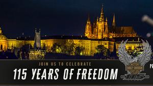 Praga celebra el 115 aniversario de Harley-Davidson.