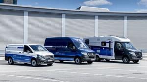 Las furgonetas cero emisiones de Mercedes.