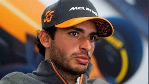 Sainz, piloto del equipo McLaren