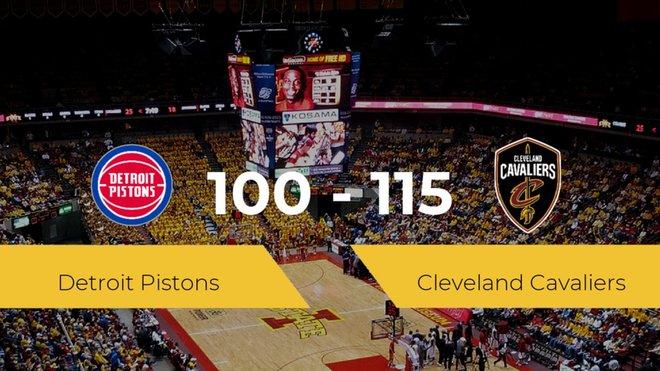 Cleveland Cavaliers gana a Detroit Pistons (100-115)