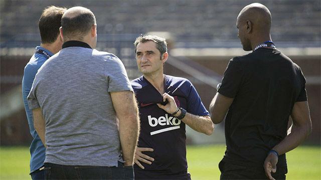 Abidal desvela la fecha en la que empezaron a trabajar en el relevo de Valverde